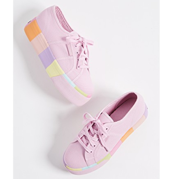 c1e46ad26826 SUPERGA Platform Multicolor Shoes